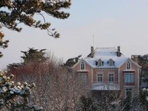 Maison Christian Dior neige