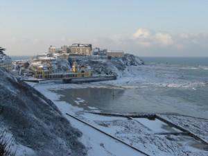 Promenade Plat Gousset et Piscine neige