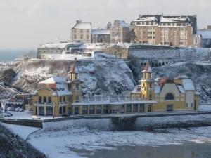 Casino Granville neige
