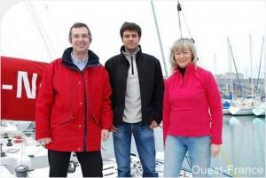 CO-PILOTES sponsorise Nicolas JOSSIER dans la course du FIGARO